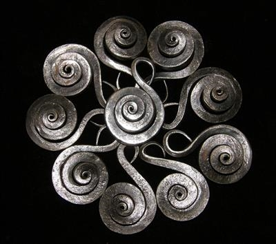 Spiral Shell Pendent