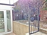 Camelia Railings by ARTIST BLACKSMITH, Metal