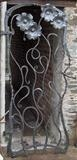 Flower Gate 1 by Spencer Field Larcombe, Metal, Hot forged mild steel