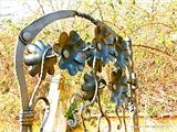 Flower Gate 2 by Spencer Field Larcombe, Metal