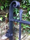 Halwell Church Gate by Spencer Field Larcombe, Metal