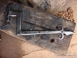Hand Forged Hinges by Spencer Field Larcombe, Metal, Wrought Iron