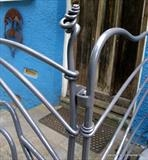 Hare Railings by Spencer Field Larcombe, Metal, Hot Forged Mild Steel powder coated