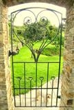 Heart Gate by Spencer Field Larcombe, Metal, Hot Forged Mild Steel