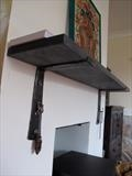 Heavy Shelf Brackets by Spencer Field Larcombe, Metal, Hot Forged Mild Steel