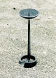 Medieval Candlestick by Spencer Field Larcombe, Metal, Hot Forged Mild Steel