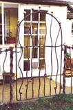 Organic Garden Gate 3 by Spencer Field Larcombe, Metal, Hot Forged Mild Steel