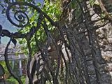 Rill Farm Gate Detail by Spencer Field Larcombe, Metal, Hot Forged Mild Steel