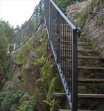 Rock Cottage Railing by Spencer Field Larcombe, Metal, Mild Steel Galvanised