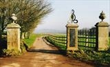 Sharpham Entrance by spencer field larcombe, Sculpture, Forged and Fabricated Mild Steel
