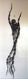 Spirit Rising.1 by spencer field larcombe, Sculpture, Hot Forged Mild Steel