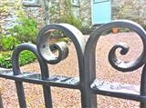 Traditional Gates by ARTIST BLACKSMITH, Installation