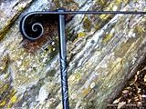 Traditional Handrails by Spencer Field Larcombe, Metal, Hot Forged Mild Steel Zinc Sprayed