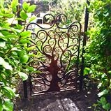 Tree of Life Gate by Spencer Field Larcombe, Metal, Hot Forged Mild Steel