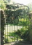 Wrought Iron Gate,Belford Mill,Harberton by Spencer Field Larcombe, Metal, Wrought Iron